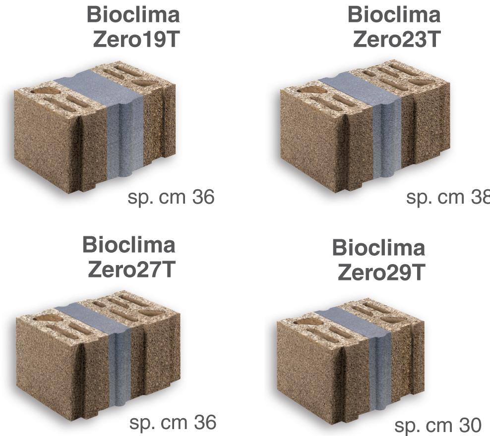 Murature portanti di tamponamento lecablocco bioclima zero - Forati portanti ...