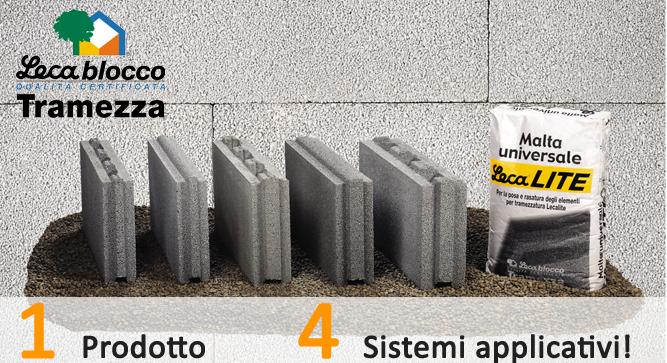 Famiglia Lecablocco Tramezza Lecalite2